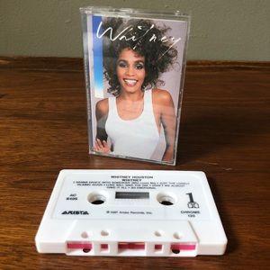 Whitney - Whitney Houston Cassette Tape